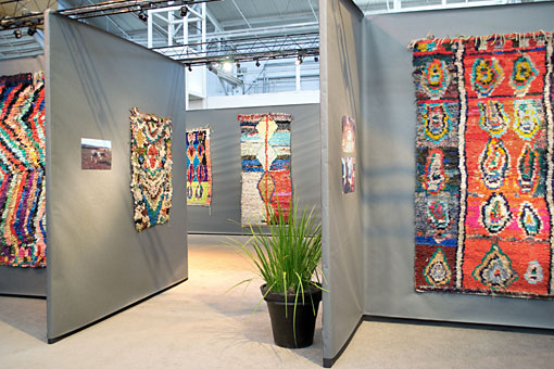special exhibition at the San Francisco Tribal + Textile Arts Show,
