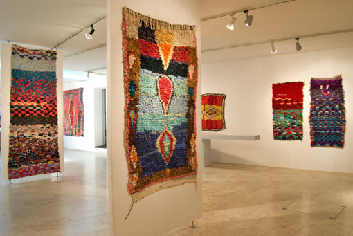'Post Punk Pink': exhibition on 'boucherouite' rag