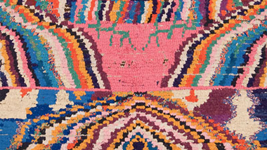 digital version of the second catalogue published on boucherouite rag rugs
