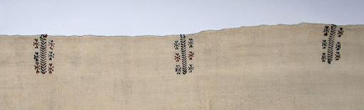 detail ofwomen's wrapping textile 'tahraoukht' (16)