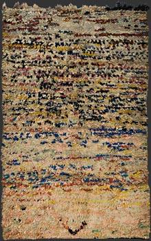 Boucherouite Moroccanberber Rag Rug Tm 1419