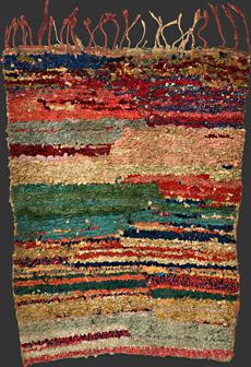 Boucherouite Moroccanberber Rag Rug Tm 1439