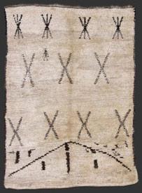 tapis de  marmoucha