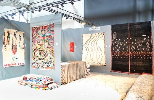stand at the tribal + textilearts show