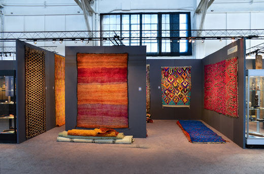 stand San Francisco Tribal + Textile Arts Show 2016